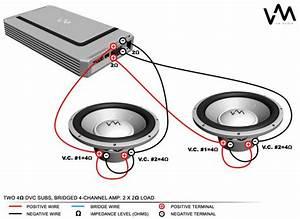 Subwoofer Wiring Diagram Dual 1 Ohm