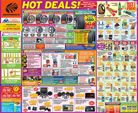 autobacs car mart august hot deals    tyres
