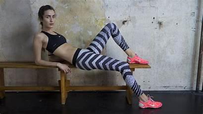 Nike Zebra Tight Stripes Knit Moment