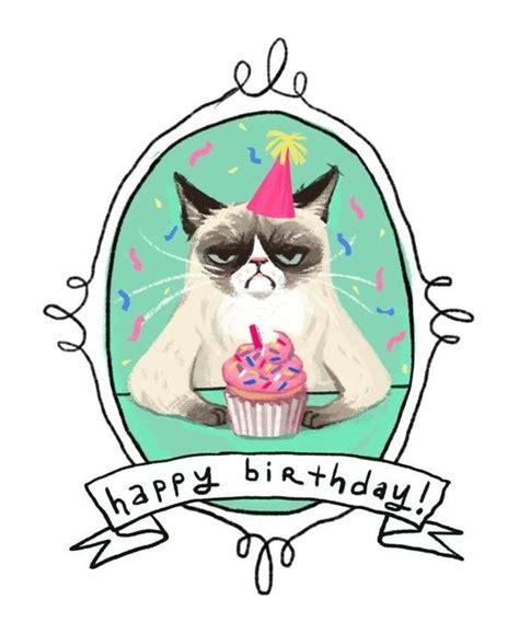 Grumpy Cat Birthday Card Printable