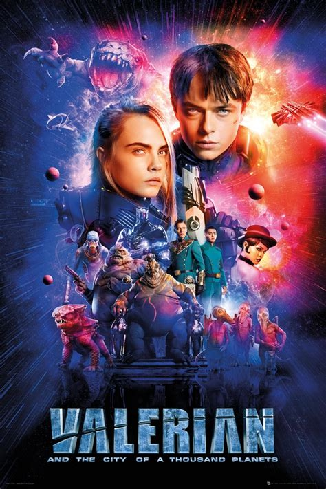 mille maxi valerian one sheet cast poster buy at grindstore