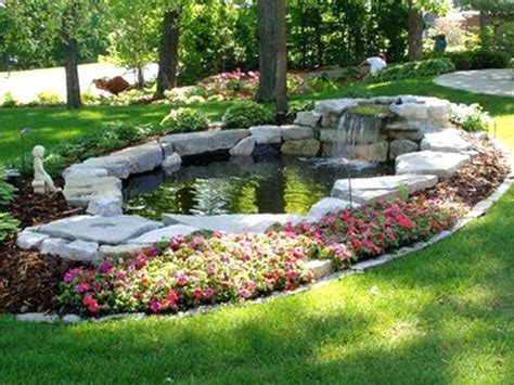 Fish Pond Landscaping Ideas — Bistrodre Porch And