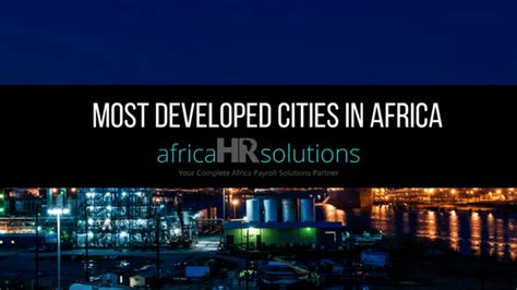 Africa Hr For African Payroll
