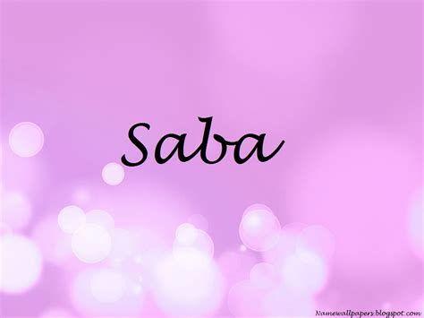 Saba Name Wallpapers Saba ~ Name Wallpapers HD Name Images