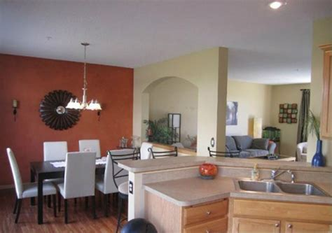 accent wall ideas for kitchen tricky accent wall colors ideas as a flamboyant