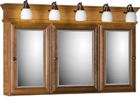 strasser tri view medicine cabinet   mirror doors