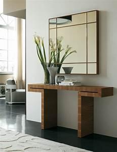 le meuble console d39 entree complete le style de votre With meuble pour entree moderne