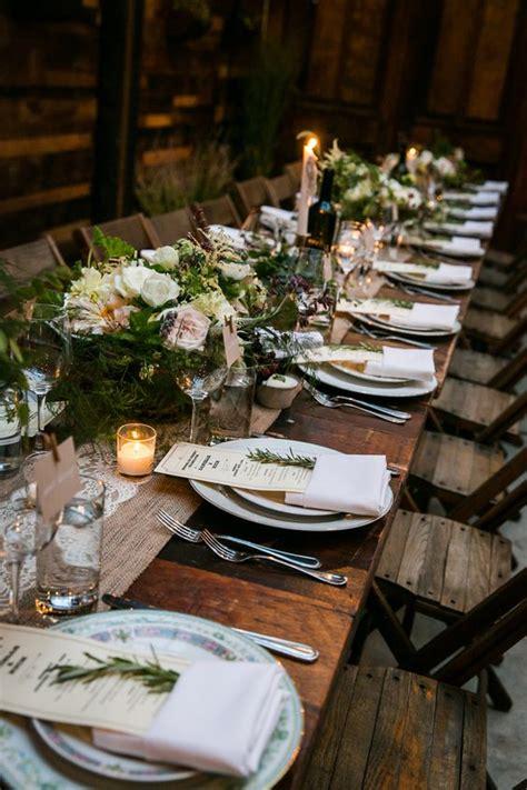 rustic table setting 30 cozy rustic wedding table d 233 cor ideas weddingomania