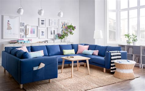 canapé bleu ikea comfortable and stylish seating for everyone gather