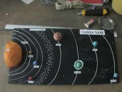 sistema solar maqueta