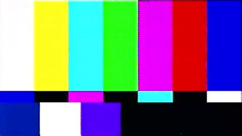 color bars tv tv color bars stock footage