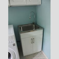 Crafted Spaces At Home Laundry Room Makeover
