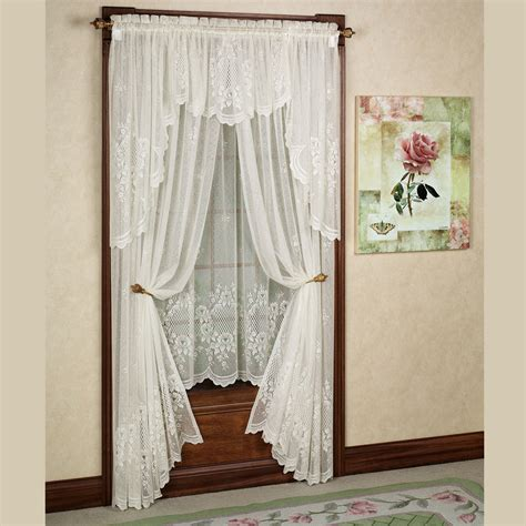 Lace Drapery Panels by Cameo Lace Window Treatment