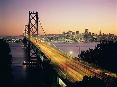 Francisco San Bridge Bay Wallpapers Desktop Skyline
