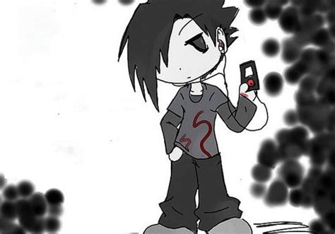lovely emo cartoon pictures creativefan