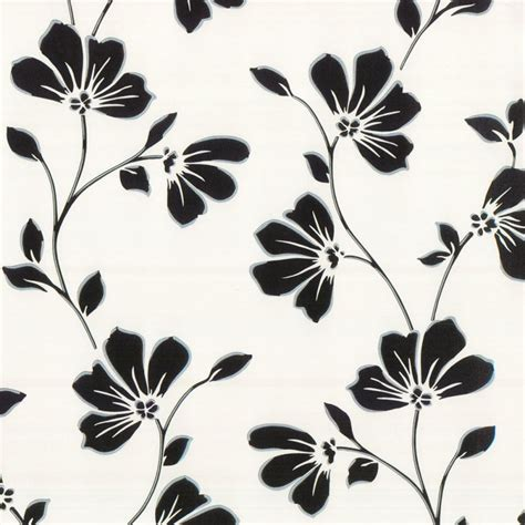 fine decor lorenzo floral wallpaper black fd