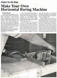 DIY Horizontal Boring Machine • WoodArchivist