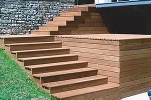 Escalier Terrasse Bois : nos terrasses en bois exotique ~ Nature-et-papiers.com Idées de Décoration