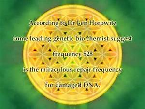 frequency 528 Hz (DNA repair frequency ?) : NO MUSIC ...
