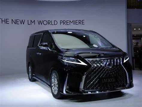 lexus lm luxury minivan   debut   shanghai