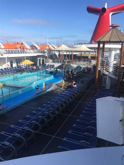 pool spa fitness carnival imagination cruise ship cruise critic