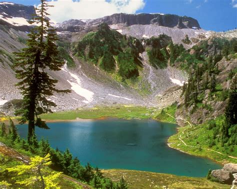 Water Mountains Landscapes Nature Trees Desktop Hd ...