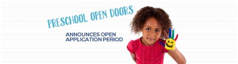 preschool open doors now accepting applications family 285   unnamed