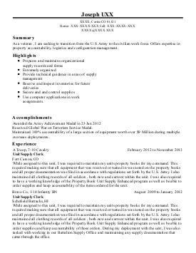 91b light wheel vehicle mechanic resume exle u s army