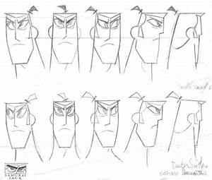 samurai jack model sheets traditional animation With series circuit 3d animated model