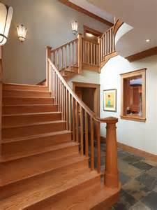 arts  crafts craftsman staircase dc metro  richard leggin architects