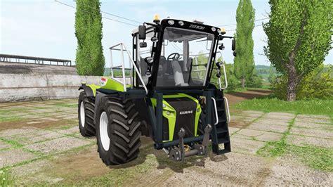 claas xerion  saddle trac  farming simulator