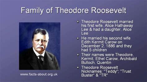 president theodore roosevelt biography