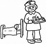 Nurse Coloring Nurses Pages Colouring Clipart Drawings Printable Doctors Outline Clip Doctor Cartoon Male Nursing Template Halloween Cliparts Preschool Clipartbest sketch template