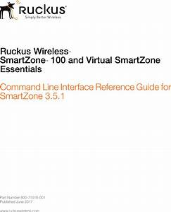 Ruckus Sz U2122 100 And Vsz E U2122 Command Line Interface Reference