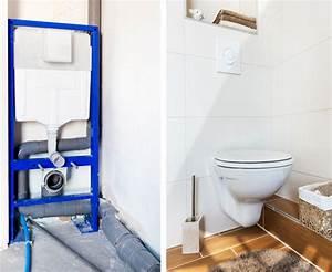 Wc Vorwandelement Verkleiden : vorwandinstallation im wc selbst einbauen ~ Michelbontemps.com Haus und Dekorationen