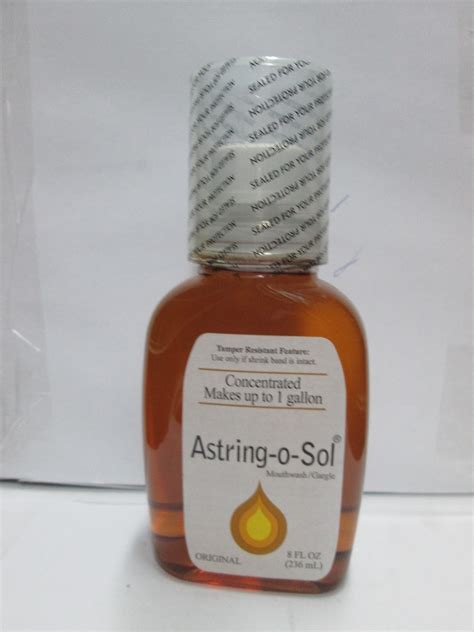 Amazon.com : Astring-O-Sol Mouthwash, 8 Ounces