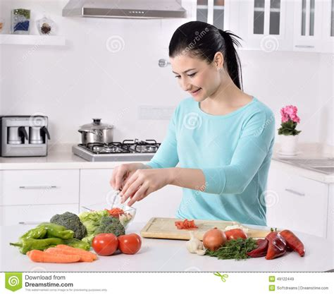 cooking in the kitchen cooking in new kitchen healthy food with