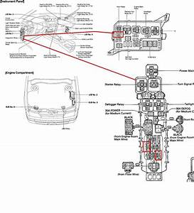 toyota corolla horn wiring diagram o wiring diagram for free With horn wiring
