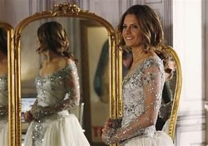 castle season 6 recap kate gets wedding dress wedding With castle wedding dress