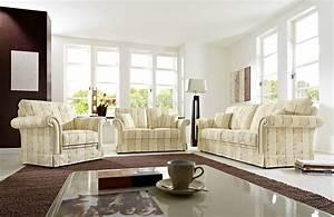 Türkische Möbel Online Kaufen : schr no imperial sofa gespann beige gemustert m bel letz ihr online shop ~ Markanthonyermac.com Haus und Dekorationen