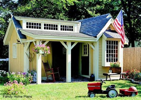 shed design plans small cabin plans easy  build