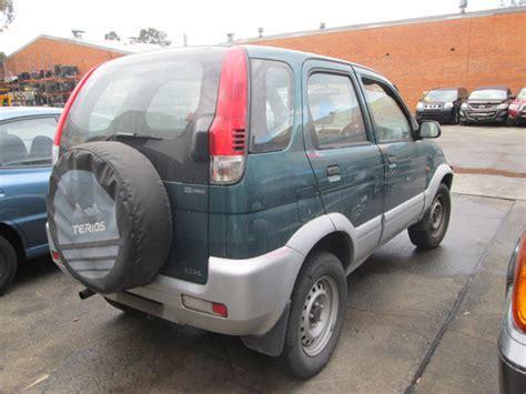 » Daihatsu Terios Ii 1.3i -a- Green. Daihatsu Terios Spare