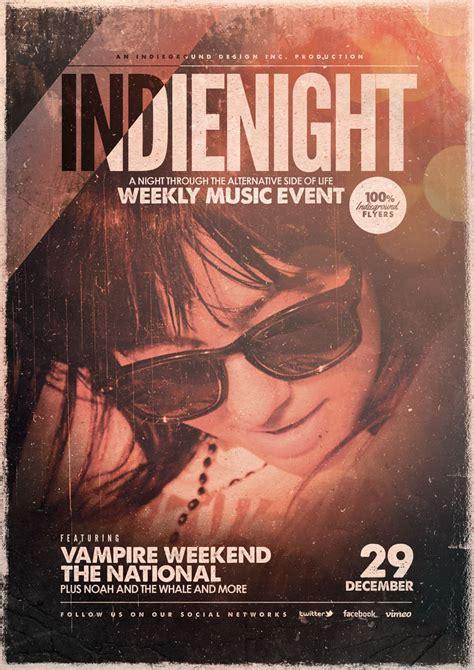 Indie Flyer Poster Vol.19 - Indieground Design