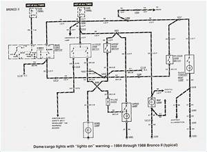 1991 Ford Bronco Wiring