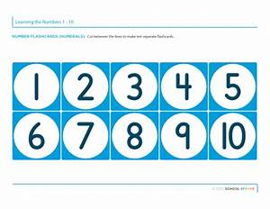 Numbers 1 10 Printable - popflyboys