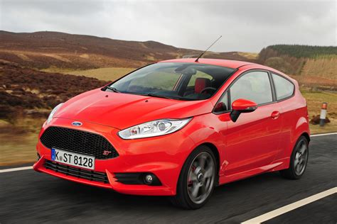 ford fiesta st  pictures auto express