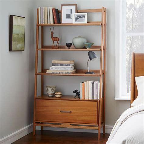 west elm flat bar storage desk mid century bookshelf wide west elm uk