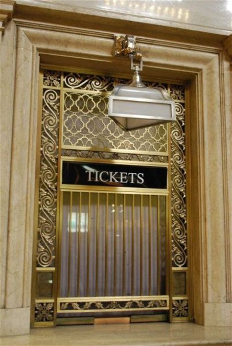 ticket window  grand central station photo