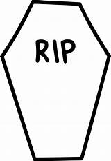 Coffin Rip Clipart Gravestone Tombstone Casket Transparent Funeral Drawings Icon Clipartmag Death Svg Onlinewebfonts Purepng Cliparts Webstockreview Tag sketch template