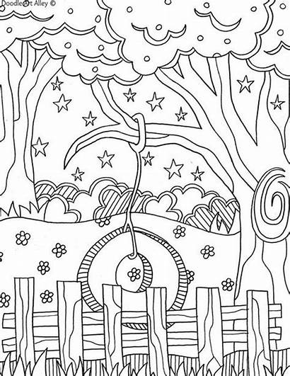 Backyard Fun Summertime Coloring Summer Pages